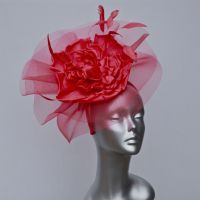 Soft Raspberry Mother of the Bride hatinator 15421/SD319/SD254